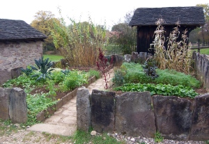 historic vegetable garden