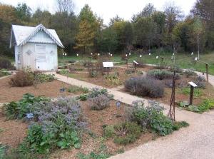 historic herb garden